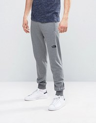 The North Face Nse Sweat Pants Slim Fit In Mid Grey Heather