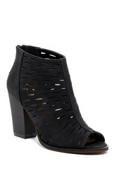 Restricted Wylie Cutout Bootie Black