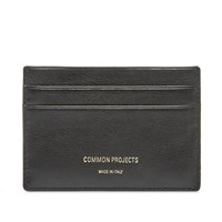 Common Projects Multi Card Holder Black