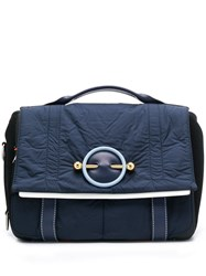 J.W.Anderson Jw Anderson Disc Satchel Blue