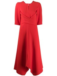 Dorothee Schumacher Sophisticated Perfection Draped Midi Dress 60