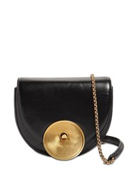 Marni Monile Leather Shoulder Bag Black