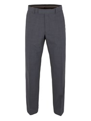 Alexandre Of England Barnet Check Regular Fit Trouser Navy