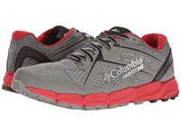 Columbia Caldorado Ii Charcoal Bright Red Men's Running Shoes Gray