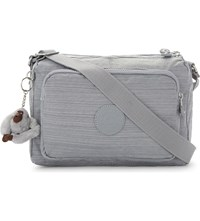 Kipling Reth Nylon Messenger Bag Dazz Grey