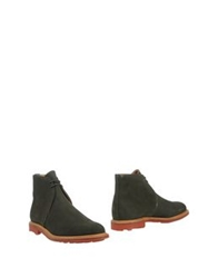 Mark Mcnairy Ankle Boots Military Green