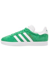 Adidas Originals Gazelle Trainers Green White Gold Metallic