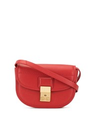 3.1 Phillip Lim Pashli Saddle Mini Belt Bag Red