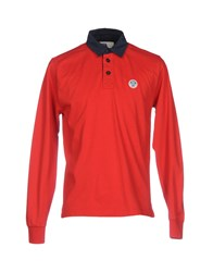 North Sails Topwear Polo Shirts Red