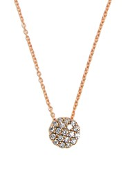 Selim Mouzannar Diamond And Pink Gold Beirut Necklace