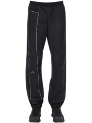 A Cold Wall Printed Nylon Pants Black