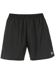 Track And Field Trainer Shorts Black