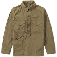 Beams Plus Multi Pocket Smock Green