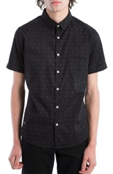 7 Diamonds Men's Beachwood Canyon Woven Shirt Navy