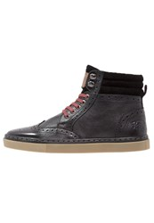 Original Penguin Huntsman Laceup Boots Black