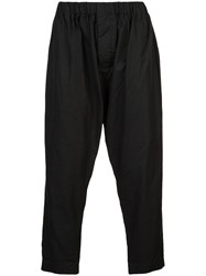 Casey Casey Cropped Trousers Black