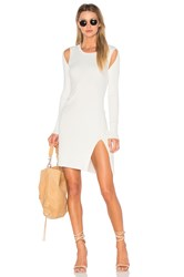 Bcbgmaxazria Braiden Sweater Dress White