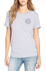 Amuse Society Women's 'Circle Society' Graphic Tee