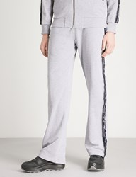 Blood Brother Branded Tape Sports Jersey Jogging Bottoms Grey