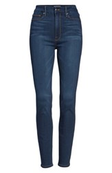 Good American Plus Size Women's Waist High Rise Skinny Jeans Blue013