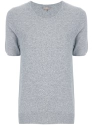 N.Peal Round Neck T Shirt Grey