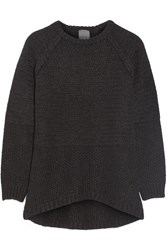 Lot 78 Oversized Ribbed Knit Sweater Black