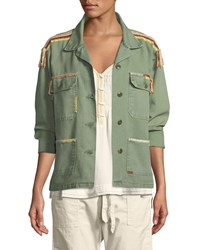 The Great Sergeant Button Down Cotton Jacket Green