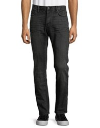John Varvatos Wight Slim Fit Distressed Jeans Charcoal