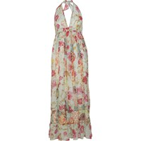 River Island Womens Light Blue Floral Print Maxi Dress