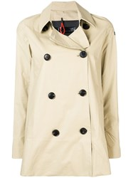 Rrd Short Trench Coat Neutrals