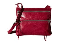 Hobo Cassie Red Plum Cross Body Handbags