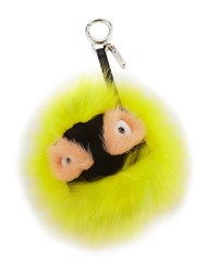 Fendi Flashy Bag Bugs Charm For Handbag Yellow