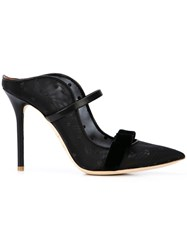 Malone Souliers Marguerite 100 Mules Black