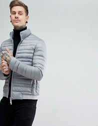 Armani Exchange Down Bomber In Grey
