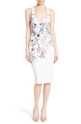 Ted Baker Women's London Scarlin Passion Flower Body Con Dress