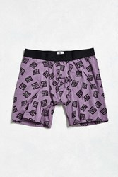 Urban Outfitters Sketchy Cage Boxer Brief Dark Purple
