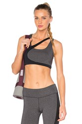 Solow Concave Sports Bra Charcoal