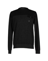 Duck And Cover Sweaters Black