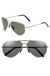 Porsche Design Men's 'P8508' 62Mm Polarized Aviator Sunglasses
