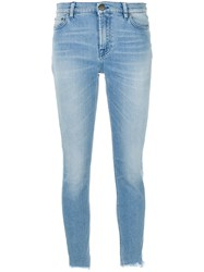 Mr And Mrs Italy Stonewashed Skinny Jeans Cotton Blue