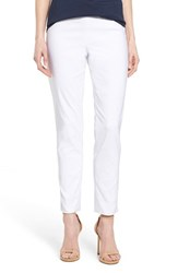 Women's T Tahari 'Dayna' Ankle Pants White