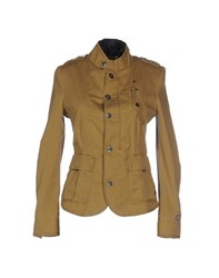 G Star G Star Raw Coats And Jackets Jackets Women Camel