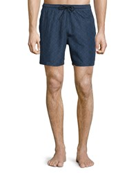 Theory Kiln Printed Swim Trunks Surface Multi Men's