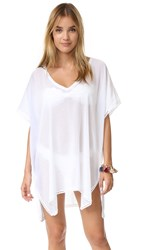 Heidi Klum Wanderlust Summer Short Cover Up White