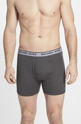 Men's Michael Kors Cotton And Modal Boxer Briefs Assorted 3 Pack