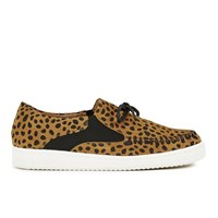 Thakoon Addition Women's Warwick 02 Suede Pumps Cheetah Suede Tan