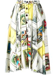 Olympia Le Tan 'Frida Collector' Skirt White