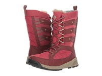 Columbia Meadows Omni Heat 3D Marsala Red Pebble Cold Weather Boots
