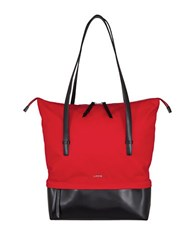Lodis Kate Nylon Blend Under Lock And Key Barbara Commuter Tote Red