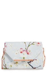 Ted Baker London Hadly Cherry Blossom Faux Leather Crossbody Bag